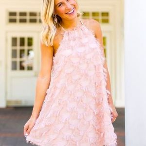 Anthropologie The Impeccable Pig Pink Dress